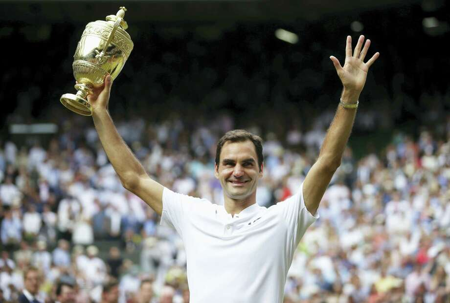 Roger Federer won his eighth Wimbledon title and 19th Grand Slam title last week. Photo: The Associated Press File Photo   / POOL AFP