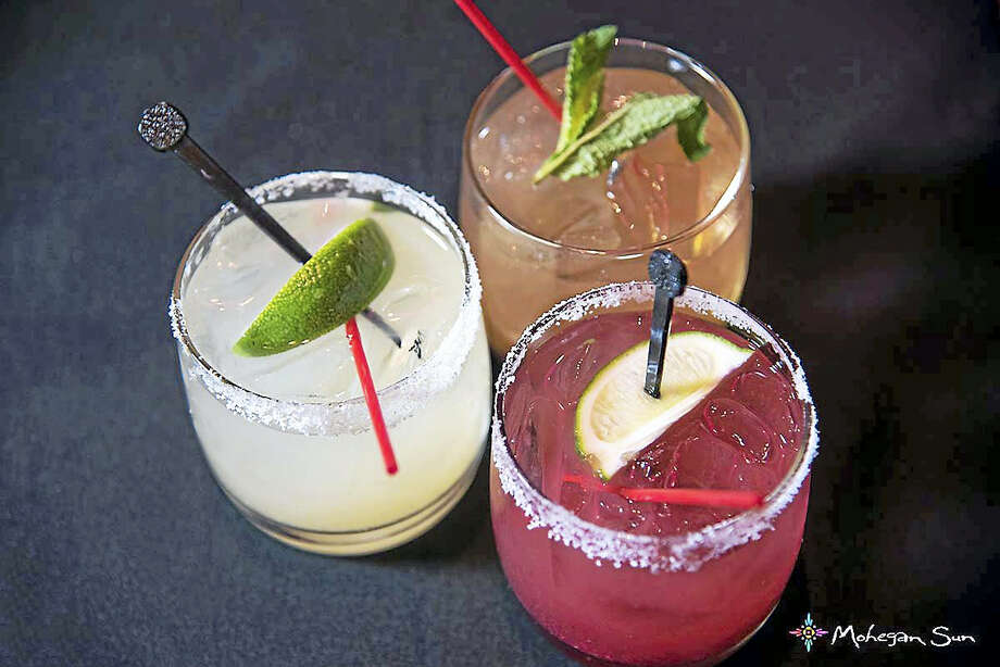 Salt-rimmed tequila drinks will be part of Tequila Tasting. Photo: Photo Courtesy Of Mohegan Sun