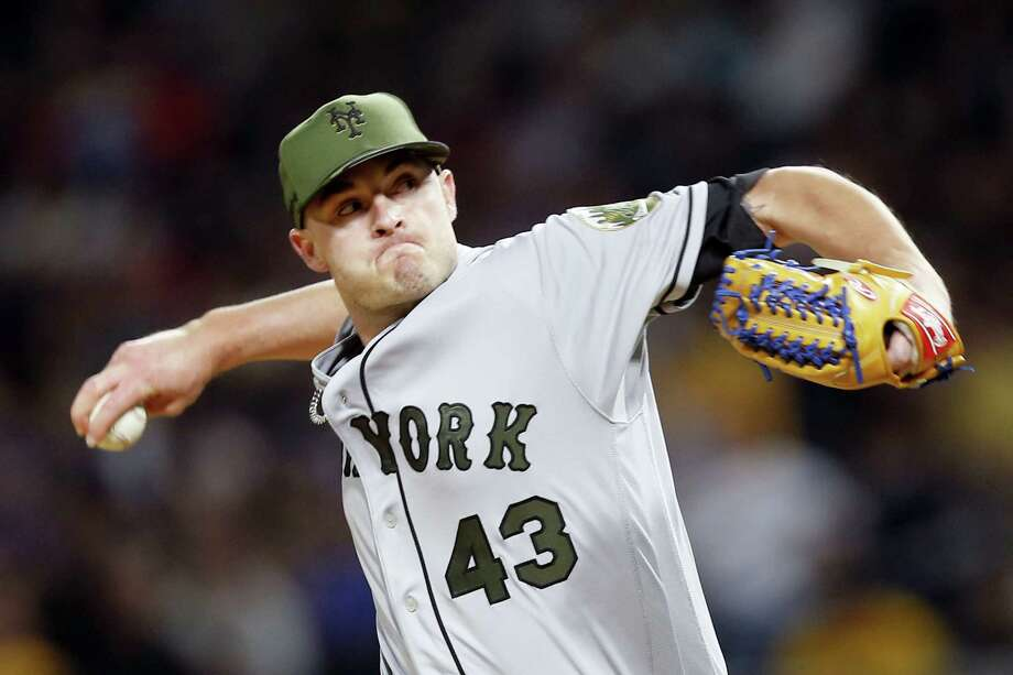 The Mets traded relief pitcher Addison Reed to the Red Sox on Monday. Photo: The Associated Press File Photo   / Copyright 2017 The Associated Press. All rights reserved.