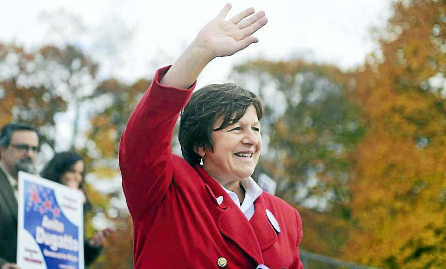 Derby Mayor Anita Dugatto Photo: Photo: Autumn Driscoll