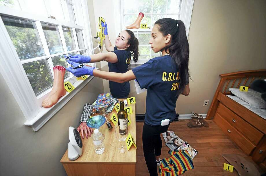 Csi West Haven Students Attend Forensic Science Camp At University Of New Haven New Haven Register