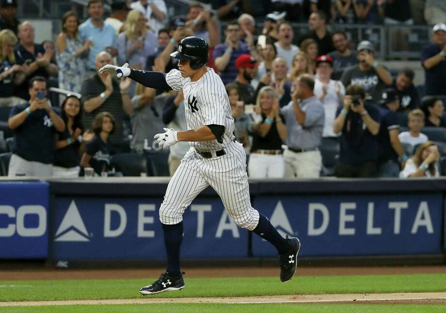 The Yankees' Aaron Judge. Photo: The Associated Press File Photo   / Copyright 2017 The Associated Press. All rights reserved.