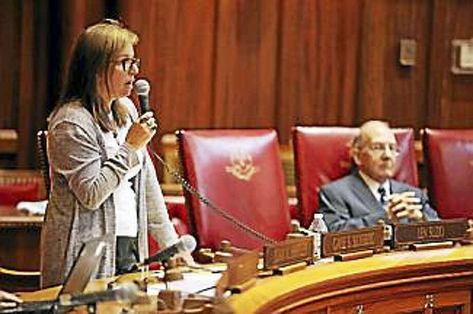State Sen. Gayle Slossberg, D-Milford Photo: Christine Stuart File Photo