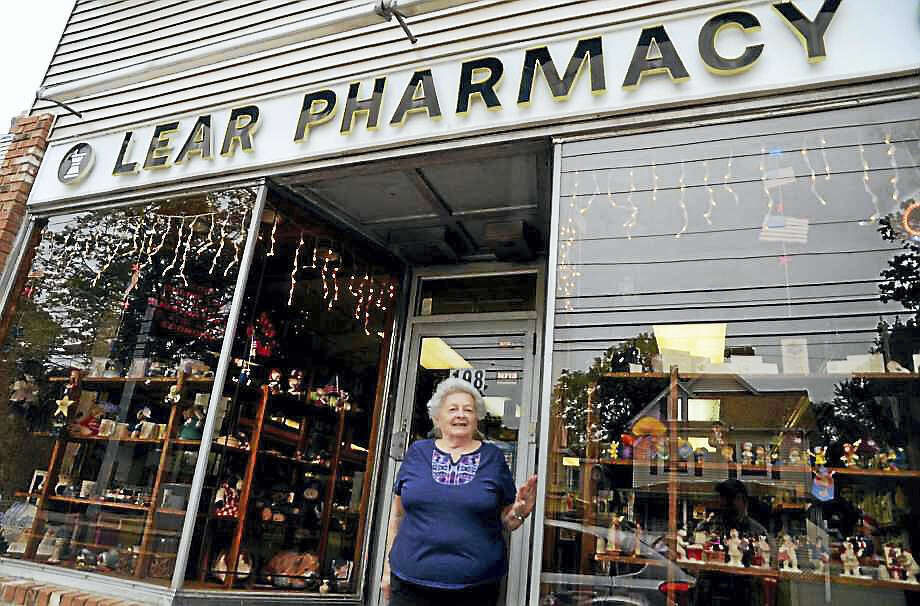 Joan Radin, owner of Lear Pharmacy on Wakelee Avenue, aims to be a petition candidate in the Nov. 7 election. Photo: Christian Abraham / Hearst Connecticut Media