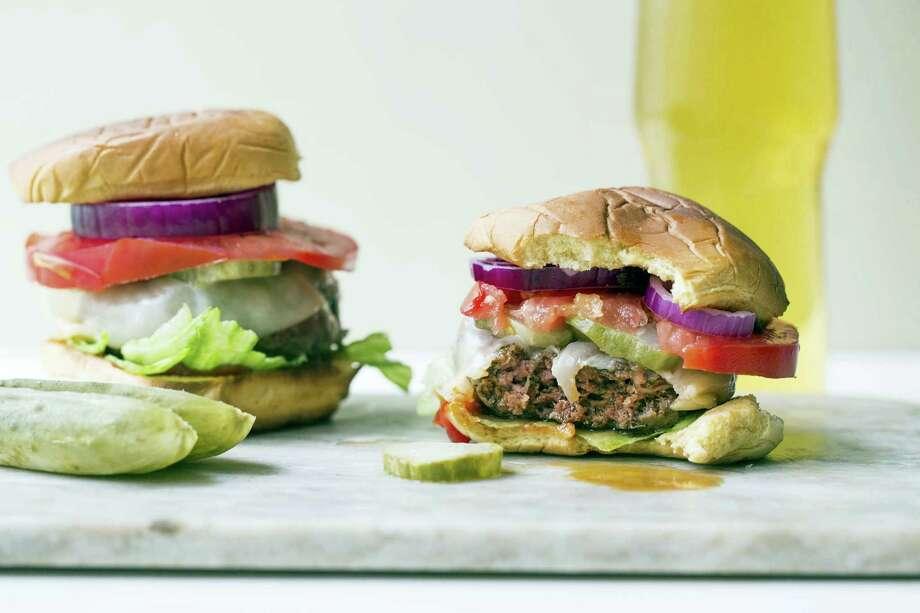 Deviled burgers provide a little more zing, more interest, and more panache than a regular burger. Photo: Sarah Crowder Via AP   / Sarah Crowder via Katie Workman