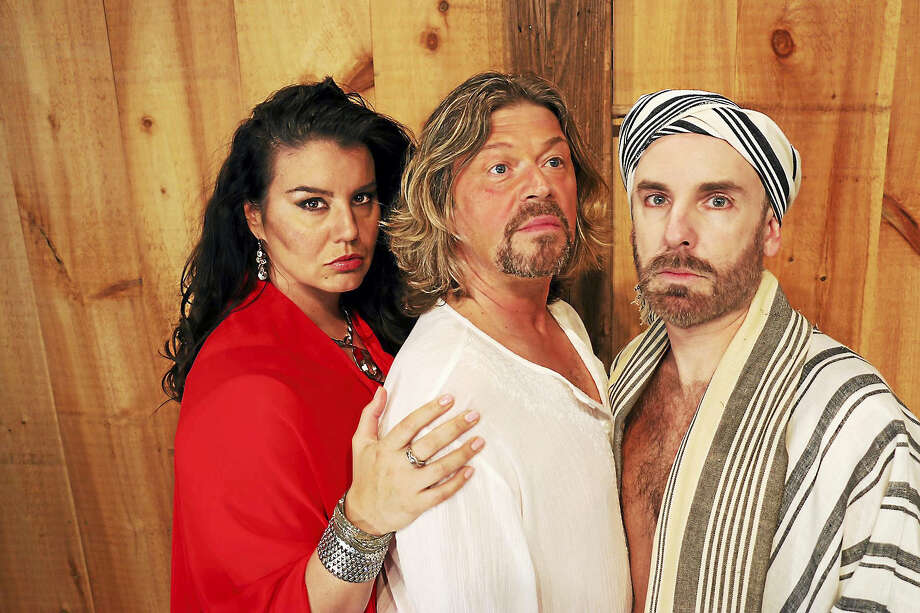 """From top, Rochelle Bard, Marc Deaton and John Johmann in """"Jesus Christ Superstar."""" Photo: Photo Courtesy Of Cathi Bosco   / 2015"""