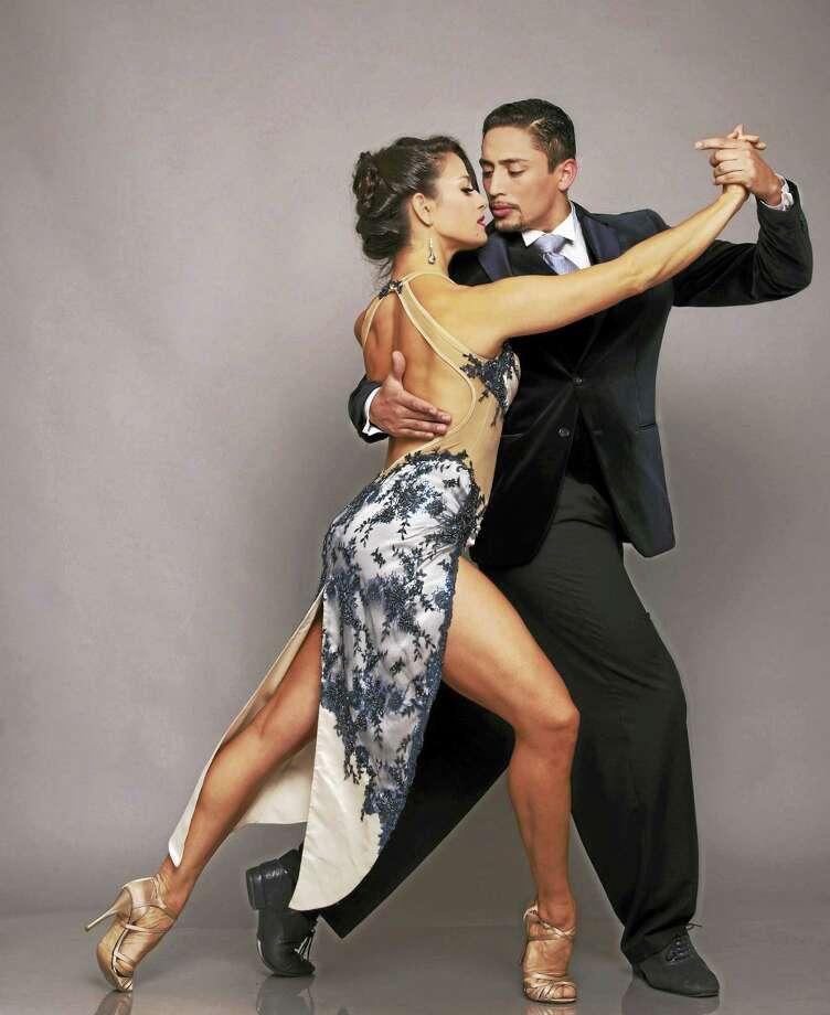 Carolina Leonardelli and Gabriel Salvi of Argentina Photo: Photo Courtesy Of CT Tango Fest