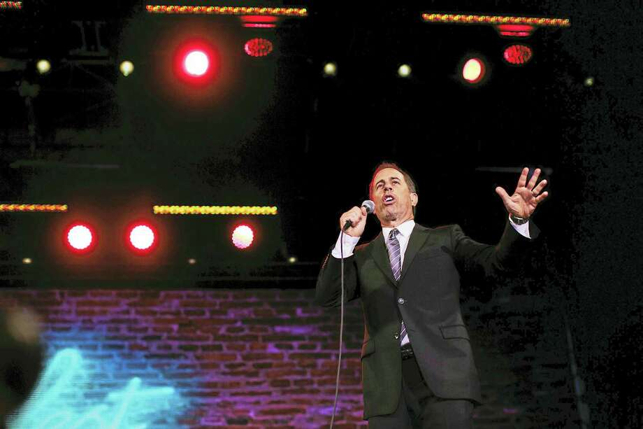 Fans at the Colossal Stage at Clusterfest in San Francisco greeted Jerry Seinfeld like he was a rock god. Photo: Photo By Biz Herman / The Washington Post   / The Washington Post