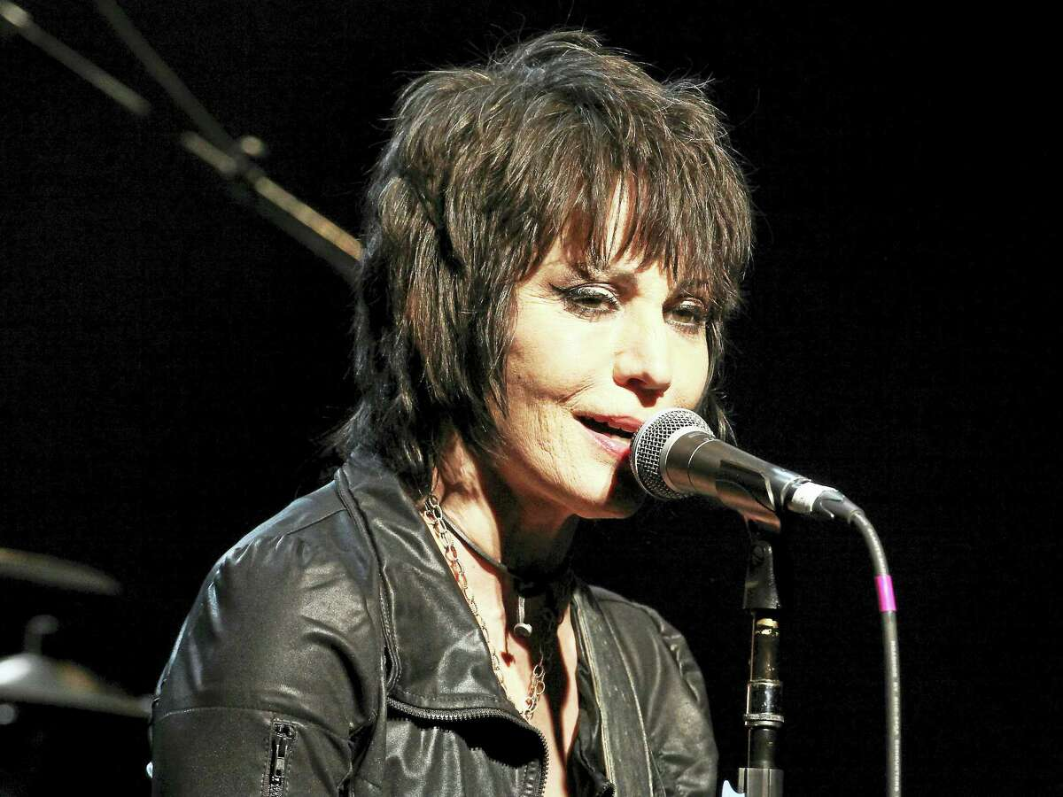 Joan Jett performs at Live Nation's National Concert Day at the Irving Plaza last year.