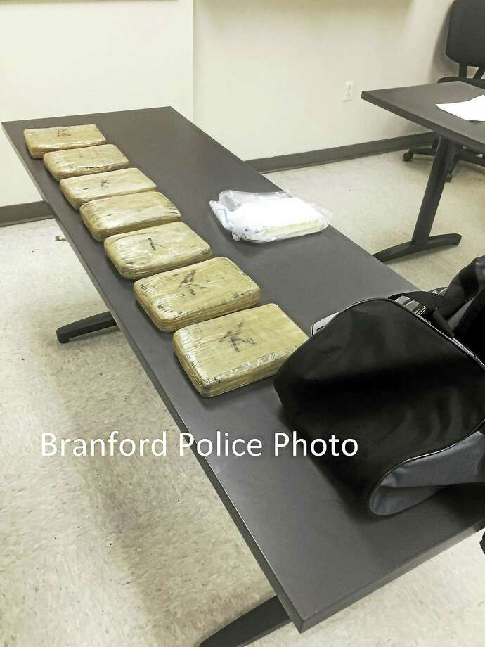 The narcotics seized by Branford Police Photo: Branford Police Department