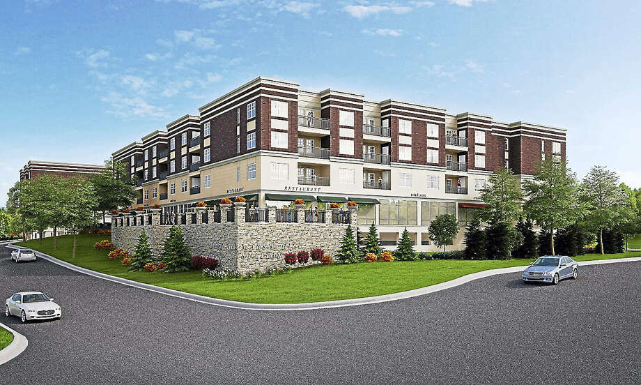 Sixty Five Marsh Hill Road LLC, is seeking to build a mixed use project that includes underground parking, commercial and residential components at 65-69 Marsh Hill Road and 0 & 15 Salemme Lane. Photo: Contributed / Jeffrey N. Gordon