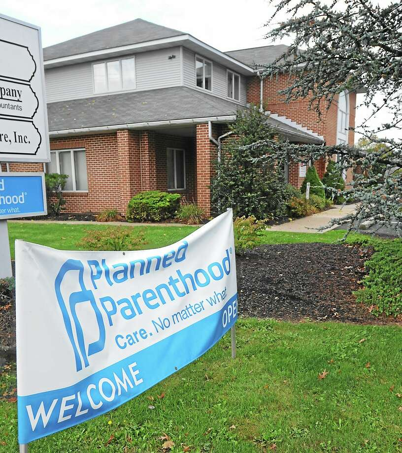 View of sign and location of Planned Parenthood which is in the back half of the building at 2081 E. High Street in Lower Pottsgrove Township. Photo: John Strickler/The Mercury/the Associated Press