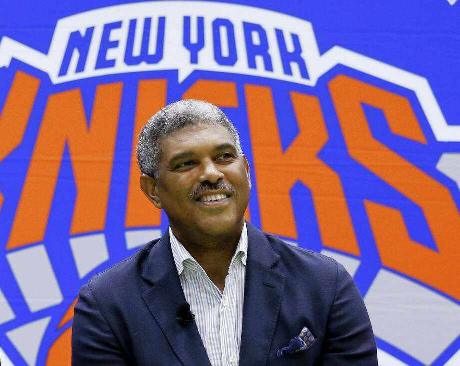The Knicks promoted Steve Mills to president this week. Photo: The Associated Press File Photo   / Copyright 2016 The Associated Press. All rights reserved. This material may not be published, broadcast, rewritten or redistribu
