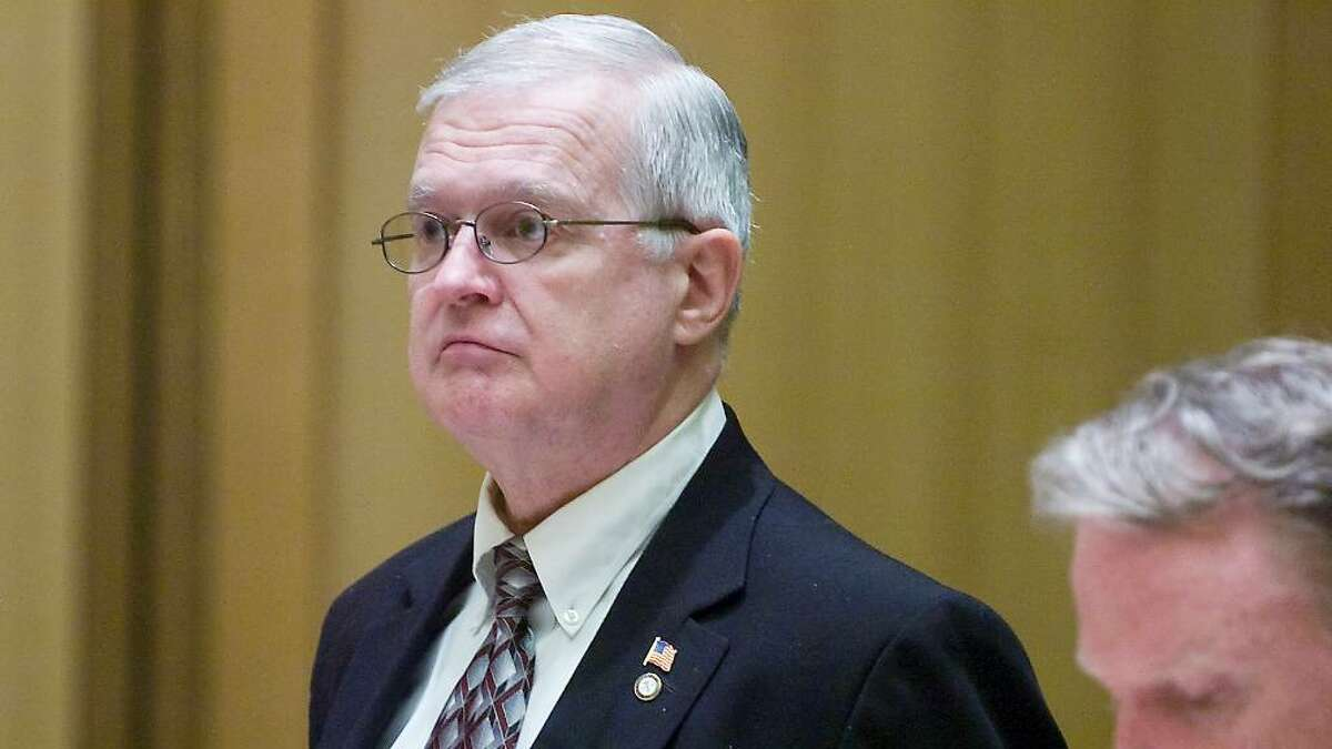 John Gagnon is arraigned on firearms charge in State Superior Court in Stamford, Conn. on Wednesday June 16, 2010. Gagnon is a convicted felon and is on the Connecticut Sexual Offender Registry stemming from a sexual assault he committed in 1987. In that case he posed as a police officer and assaulted a female motorist. More recently Gagnon was arrested for Illegal Use of a Uniform by the Stamford Police Department in 2004.