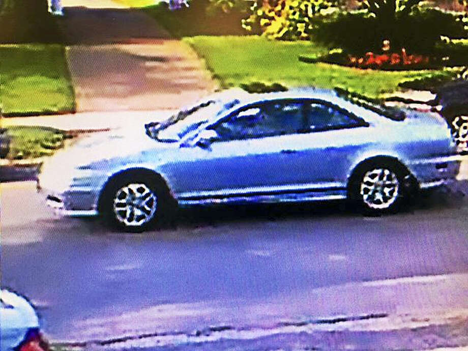 Police have obtained images of the vehicle driven by a suspect accused of indecent exposure. Photo: Courtesy Of Hamden Police