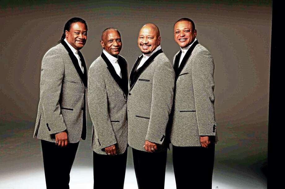 The Stylistics will take the stage July 22 on the New Haven Green. Photo: Contributed