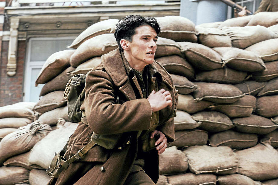 """The viewpoint of British soldier Tommy (Fionn Whitehead) is one of the narratives explored in the movie """"Dunkirk."""" Photo: Melinda Sue Gordon / Warner Bros. Pictures.   / The Washington Post"""