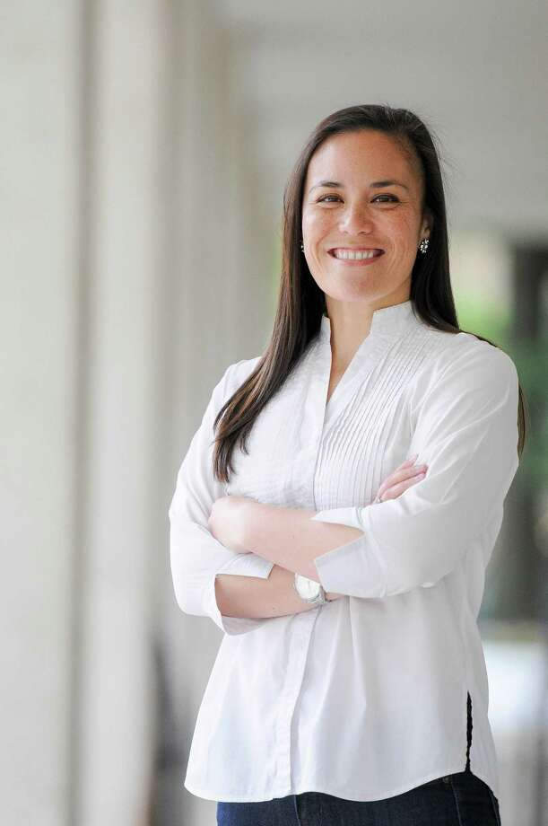 U.S. Air Force veteran and national security expert Gina Ortiz Jones, is challenging Rep. Will Hurd for Texas' 23rd Congressional District. She is a Democrat. Photo: Courtesy Photo / Ana Isabel Photography http://www.anaisabelphotography.com