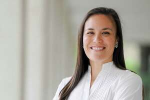 U.S. Air Force veteran and national security expert Gina Ortiz Jones, is challenging Rep. Will Hurd for Texas' 23rd Congressional District. She is a Democrat.