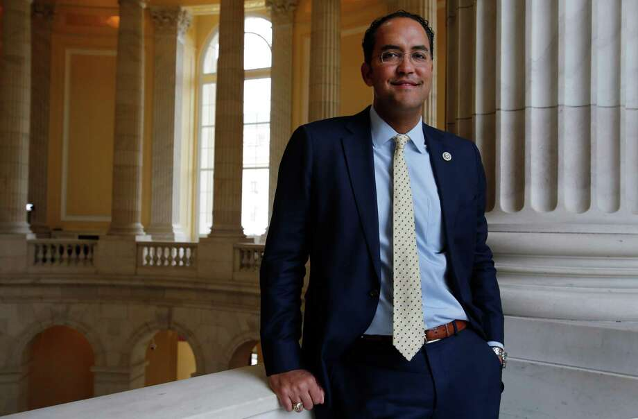 Republican Congressman Will Hurd, a San Antonio native, represents the 23rd Congressional District of Texas. He was first elected to that position in 2014 and will be seeking a third term in next year's election. Photo: Susan Biddle /For The San Antonio Express-News / Susan Biddle
