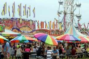 Huron Community Fair — Wednesday Midway 2017  Huron Community Fair — Wednesday Midway 2017