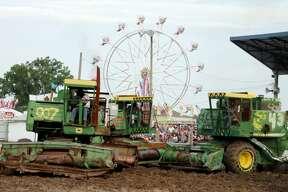 Huron Community Fair — Combine Demolition Derby 2017