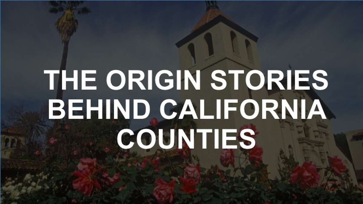 Check out the slideshow to see how your county was named.