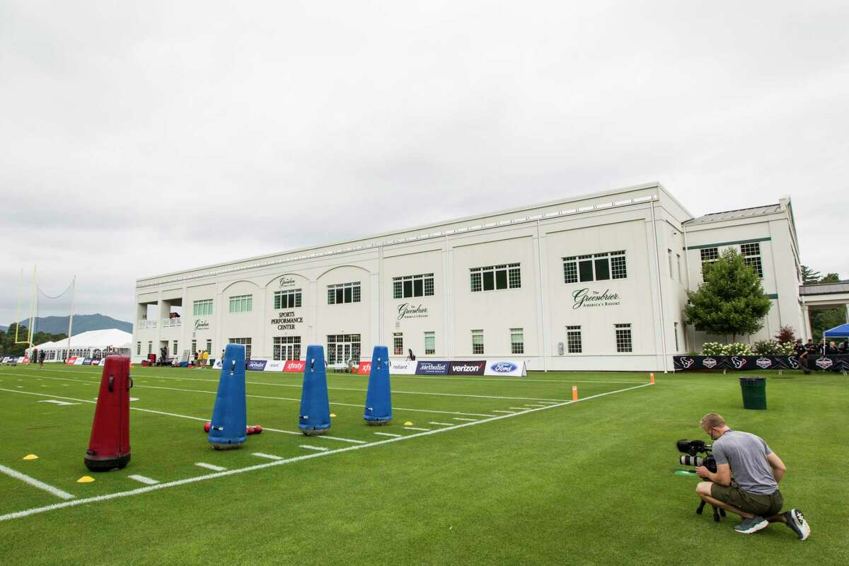 The Sports Performance Center at the Greenbrier is shown during Houston Texans training camp on Wednesday, July 26, 2017, in White Sulphur Springs, W.Va. ( Brett Coomer / Houston Chronicle )