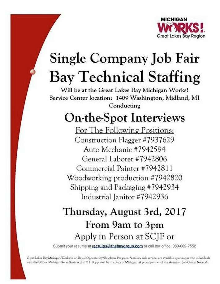 Land A Job At These Area Hiring Events  Michigan Works Resume