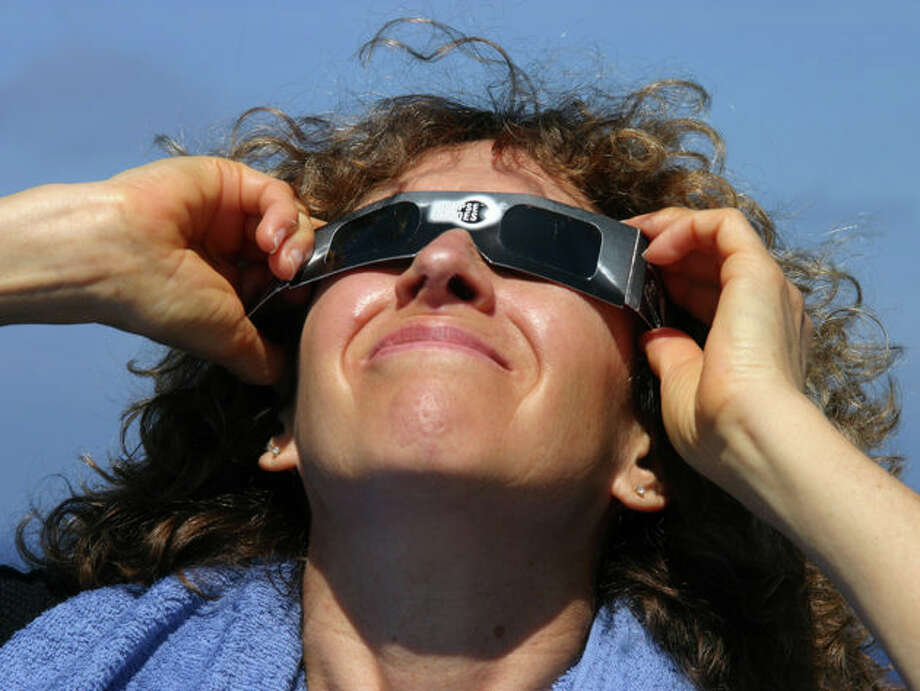 Eclipse glasses let you see a partial solar eclipse safely, but they have to come from a reputable dealer. Photo: Evan Zucker