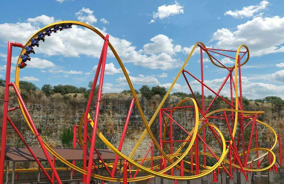 The new Wonder Woman coaster is the first dedicated to the DC Comics superhero. Photo: Courtesy Six Flags