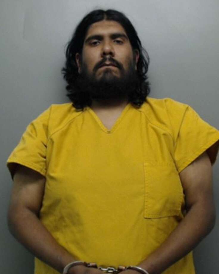 Juan Carlos Moreno, 34, was charged with indecent exposure, a Class B misdemeanor that could carry a punishment of up to 180 days in jail and a $2,000 fine. Photo: Webb County Sheriff's Office