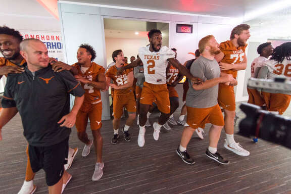 The University of Texas unveiled their remodeled football locker room on Wednesday night. Each player's locker is estimated to have cost more than $10,000.