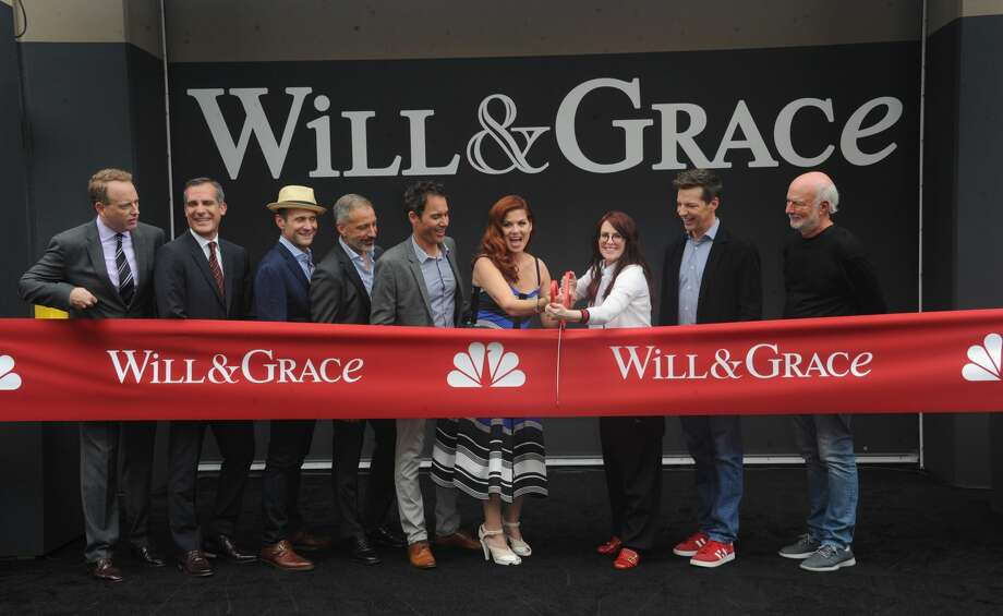 "On Aug. 2, 2017, the cast and creators of the revamped ""Will & Grace"" gathered for a ribbon-cutting ceremony at the NBC Studios in Los Angeles.Continue clicking to see the cast when the show first premiered in 1998 and what they look like now. Photo: Albert L. Ortega/Getty Images"