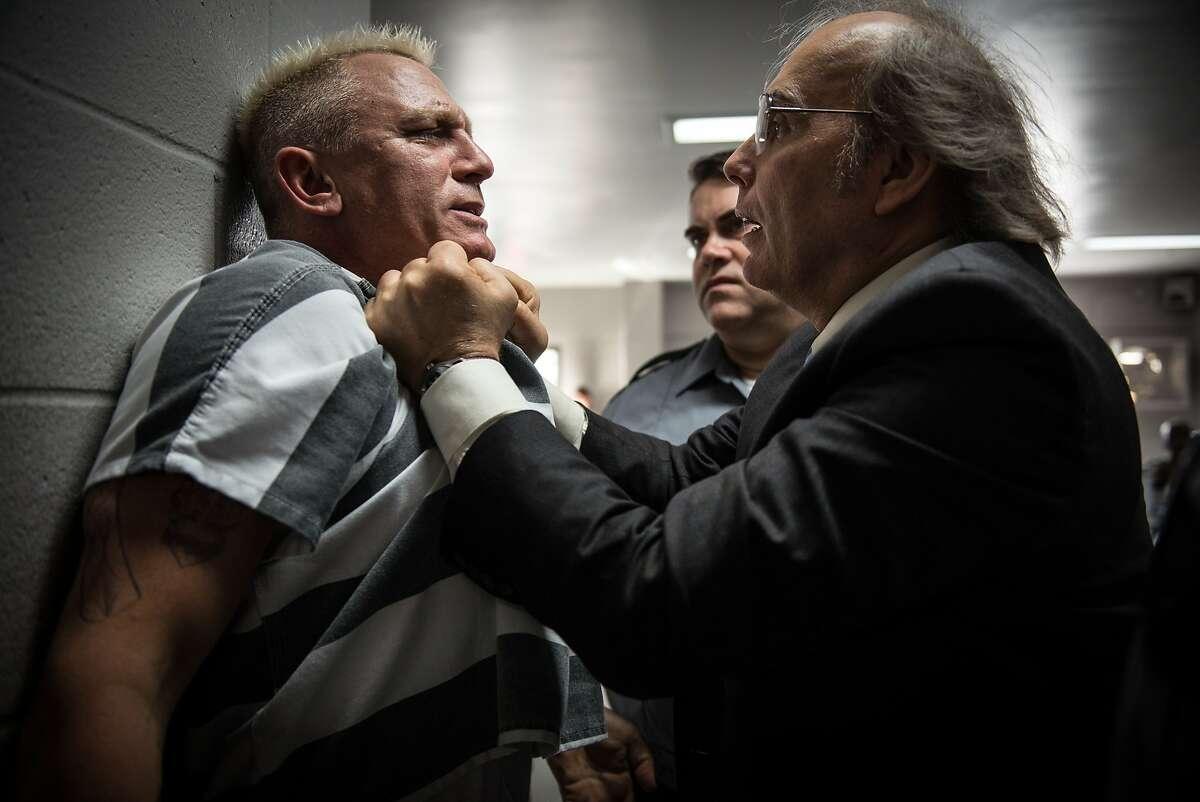Daniel Craig stars as Joe Bang and Dwight Yoakam as Warden Burns in Steven Soderbergh�s LOGAN LUCKY, a Fingerprint Releasing and Bleecker Street release.