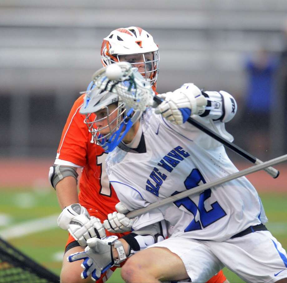 Darien defeated Ridgefield 20-4 in the FCIAC boys lacrosse championship at Brien McMahon High School in Norwalk, Conn. on Thursday, May 25, 2017. Photo: Matthew Brown / Hearst Connecticut Media / Stamford Advocate