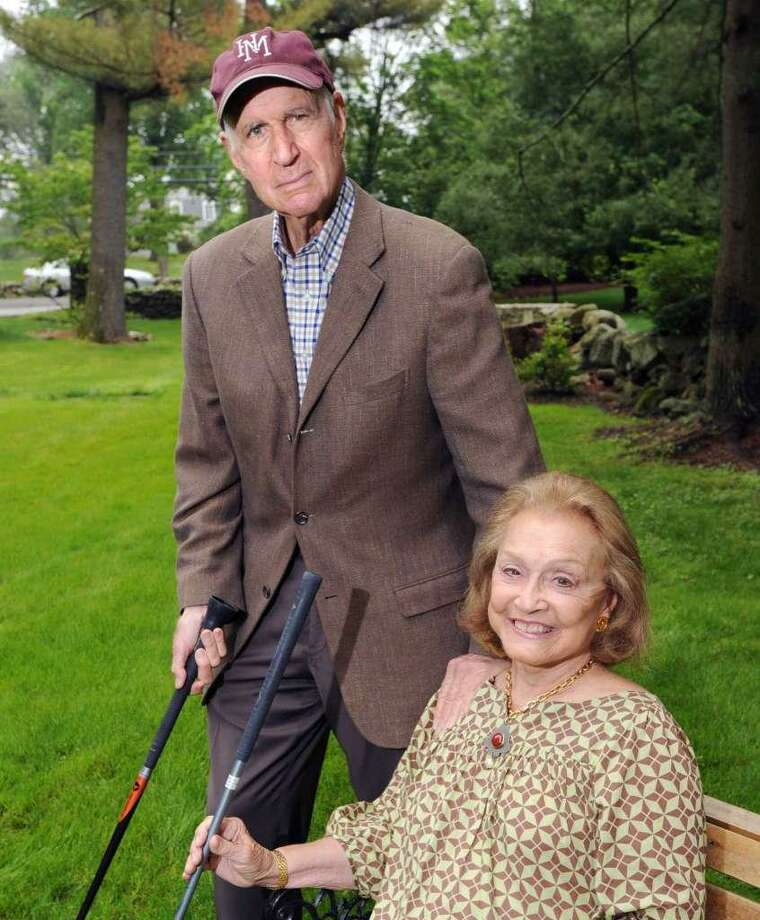 Barbara and Donald Jonas, who held a charity golf event in 2012, are longtime Greenwich residents Photo: / Hearst Media / Bob Luckey