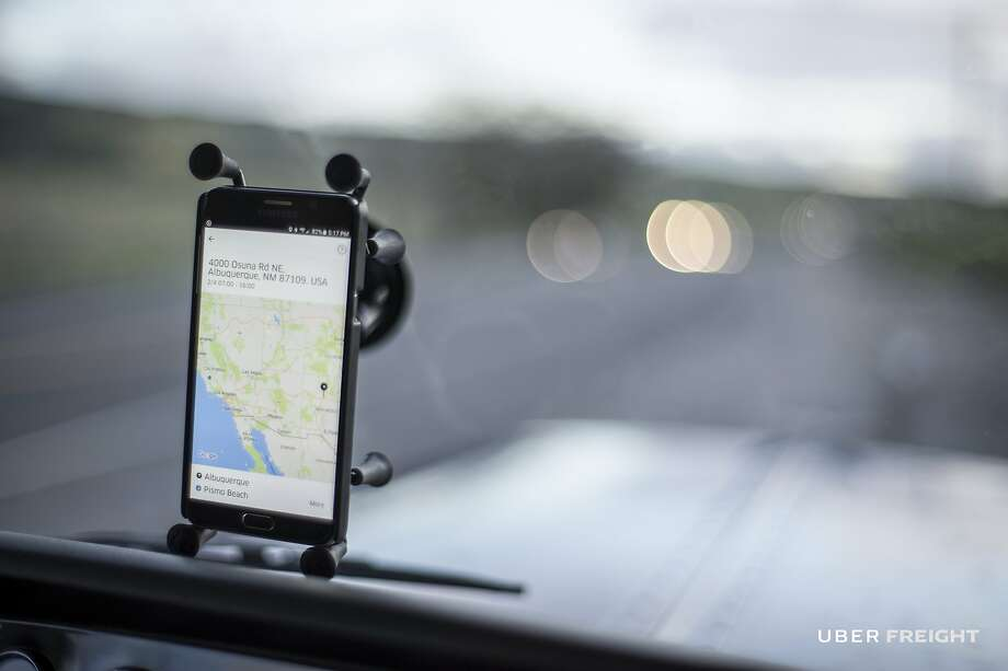 An Uber driver. A new study found that when Uber comes into a new city, it reduces ambulance usage rates by about 7 percent. Photo: Uber