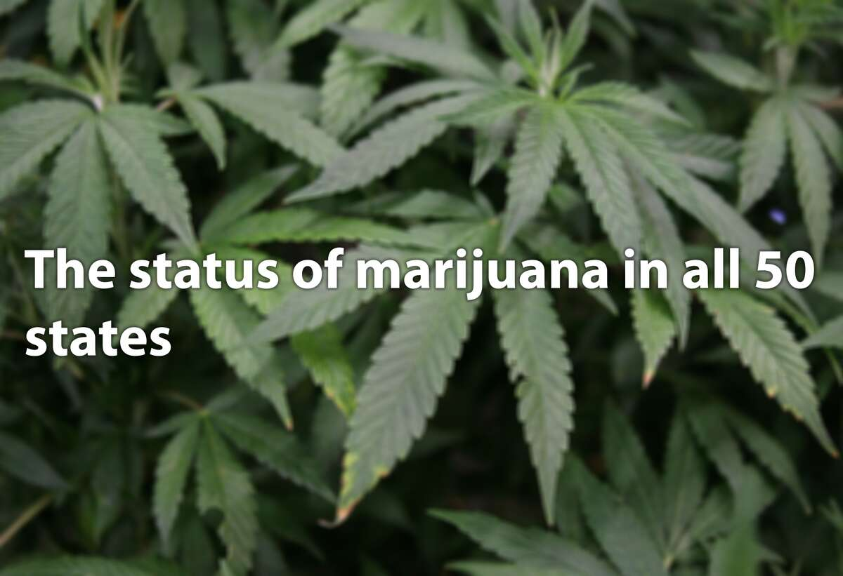 THE STATUS OF MARIJUANA IN EVERY US STATE Could marijuana legalization be coming to your start? Pot possession is already legal in four U.S. states and Washington D.C. Several other states have decriminalized possession (eliminated misdemeanors tied to possession). And a couple dozen states permit residents to possess marijuana for medical reasons. See how each U.S. state feels about weed in the gallery. Source: NORML, NCSL, Washington Post