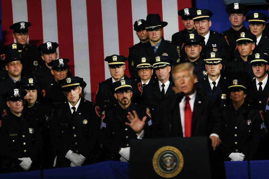 Trump's 'joke' about police being rough on suspects wrong