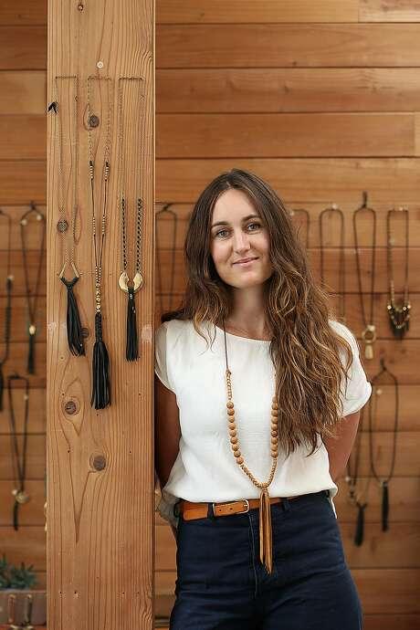 Jewelry designer Marisa Haskell of Marisa Mason Jewelry. Photo: Liz Hafalia, The Chronicle