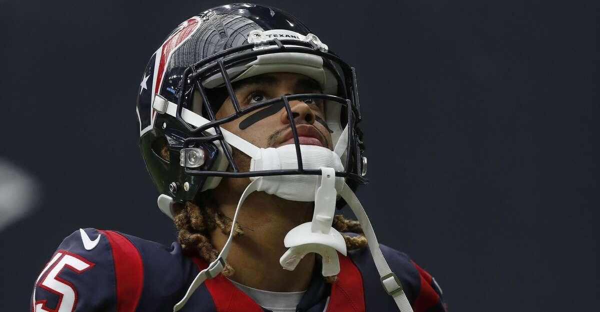 Houston Texans wide receiver Will Fuller (15) during the fourth quarter an NFL football game at NRG Stadium, Sunday,Oct. 30, 2016 in Houston. ( Karen Warren / Houston Chronicle )