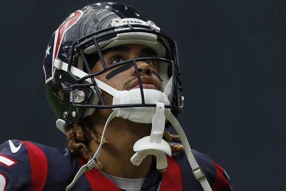 Houston Texans wide receiver Will Fuller (15) during the fourth quarter an NFL football game at NRG Stadium, Sunday,Oct. 30, 2016 in Houston.   ( Karen Warren / Houston Chronicle )