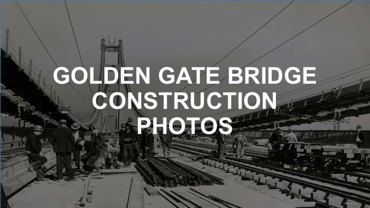 Click ahead to see photos of Golden Gate Bridge construction from the Chronicle archives.