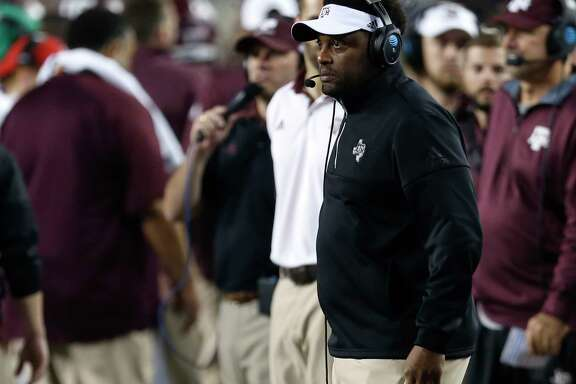 Texas A&M coach Kevin Sumlin hopes to be in a happier mood on the sideline during November games this season.