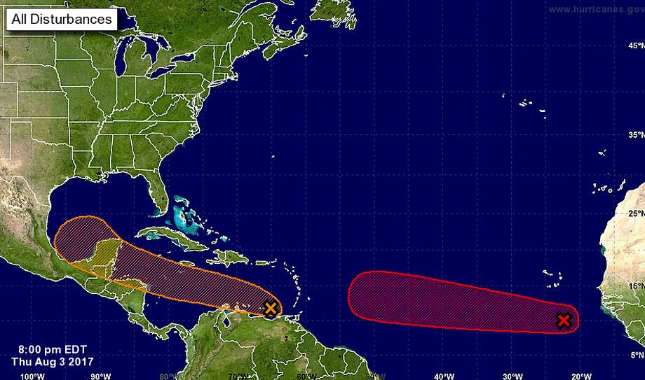Weather experts are keeping an eye on two tropical systems ...