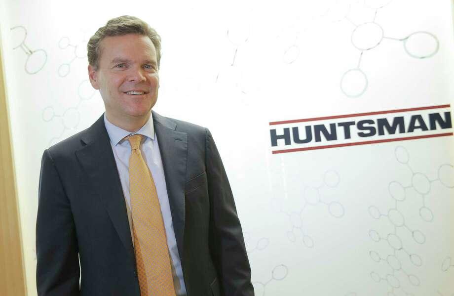 Huntsman CEO Peter Huntsman talks about his company on Monday, Oct. 24, 2016, in Woodlands. ( Elizabeth Conley / Houston Chronicle ) Photo: Elizabeth Conley, Staff / Internal