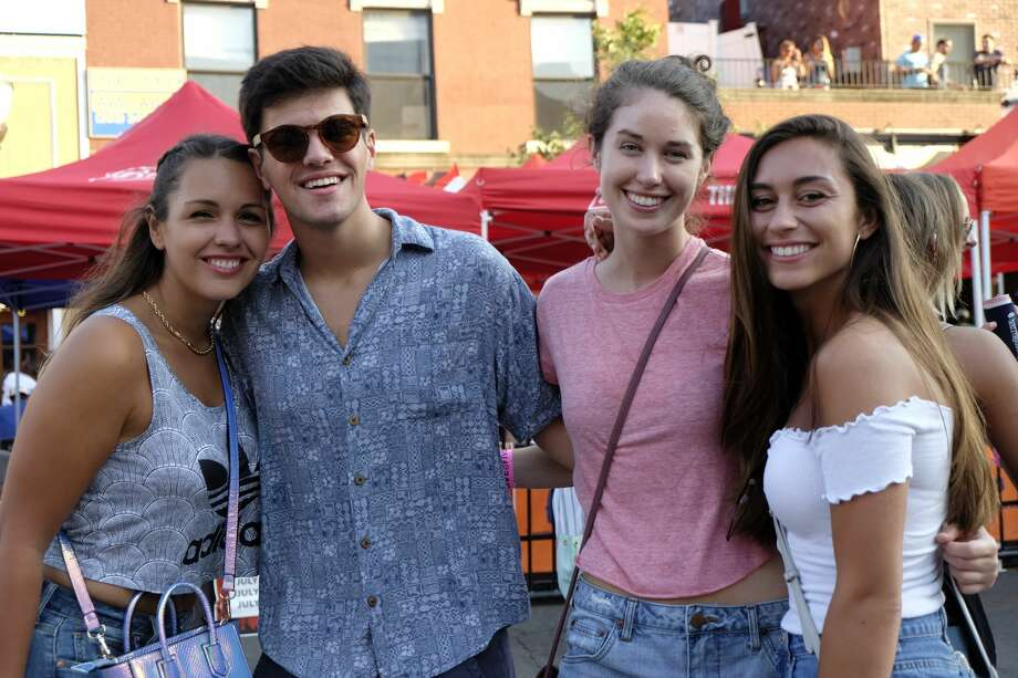 """Plain White T's, best known for their song """"Hey There Delilah,"""" headlined Alive@Five at Columbus Park in Stamford on August 3, 2017. Were you SEEN? Photo: Dawn Kubie"""