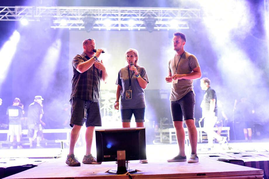 The Devil Wears Prada performs during the Rock The Desert christian music festival Aug. 3, 2017. James Durbin/Reporter-Telegram Photo: James Durbin
