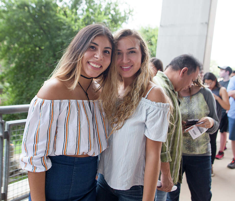 """More than 10,000 John Mayer fans in San Antonio lined up to see the singer-songwriter and guitar hotshot perform hits like """"Why Georgia"""" on Thursday, Aug. 3, 2017, at the AT&T Center. Photo: B. Kay Richter, For MySA.com"""